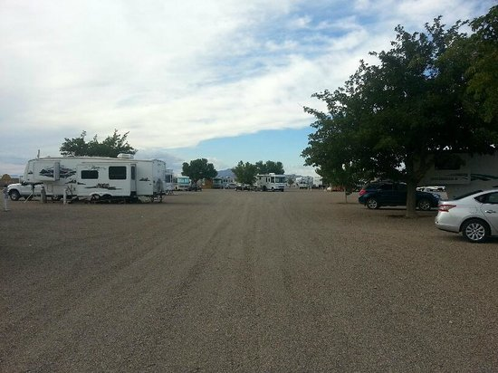 Little Vineyard RV Park: road/drive in park