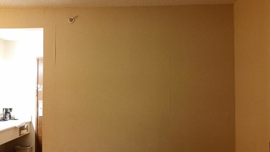 Baymont Inn & Suites ST. Joseph/Stevensville : dirty, decaying walls