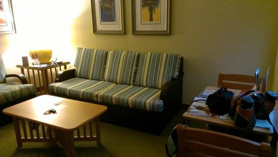 DoubleTree Suites by Hilton Melbourne Beach Oceanfront : Pull out Sofa