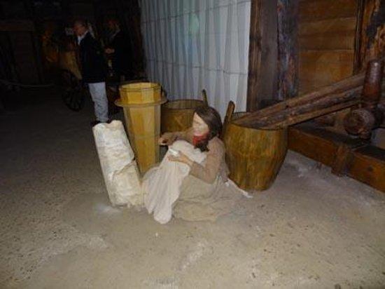 Salt Mine Hallein: 坑内