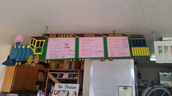 Alabama Jim's Long Shot : Ice cream side