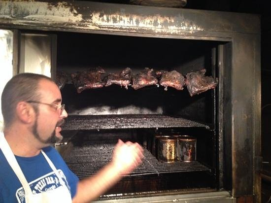 Texas Bar-B-Q Tour: if your mouth waters looking at this imagine when you have the aroma also