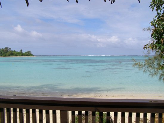Muri Shores: View from the villa deck