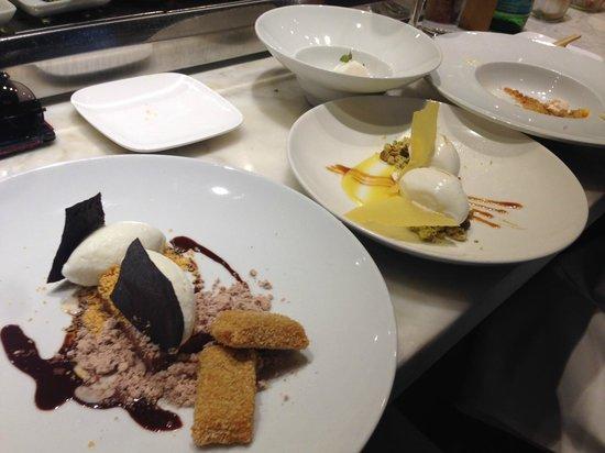 Uchi: Um... Every dessert on the menu. I am a sucker for sweets.