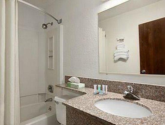 Travelodge Muskegon: Clean bathroom