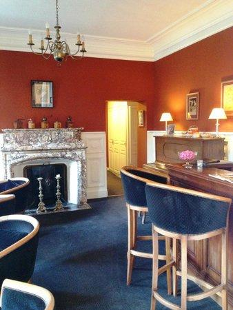 Hotel-Restaurant Edward 1er : Bar area