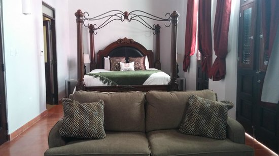 La Terraza de San Juan: The junior suite