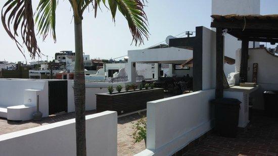 La Terraza de San Juan: The rooftop terrace/bar