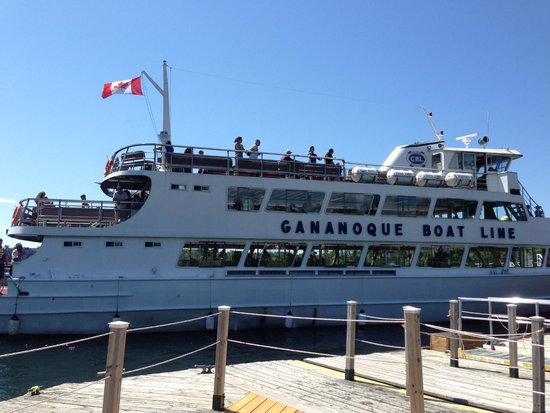 "Gananoque Boat Line: ""A Wonderful Trip During Summer"""