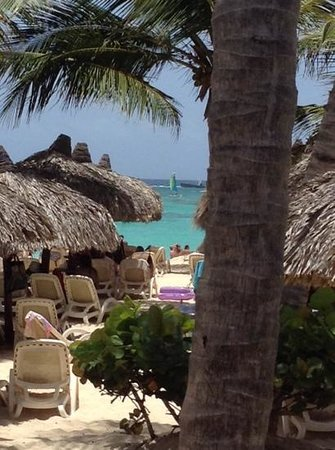 Luxury Bahia Principe Esmeralda Don Pablo Collection : view from the gril at the beach