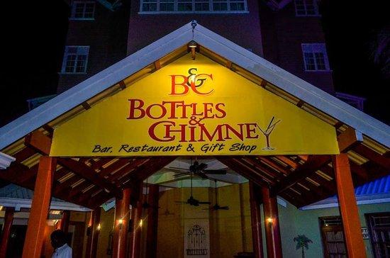 Bottles & Chimney Bar & Restaurant: Bottles and Chimney