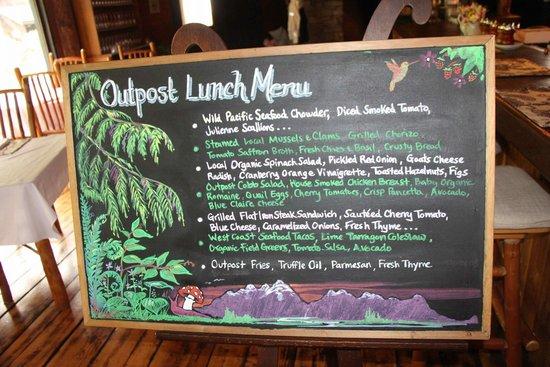 Clayoquot Wilderness Resort: SUCH good food