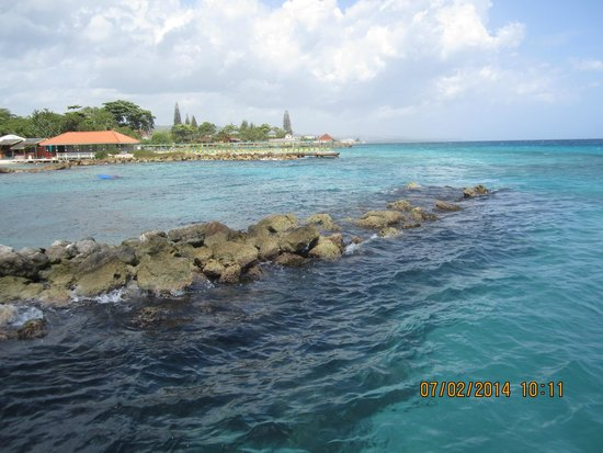Franklyn D Resort & Spa: View from pier
