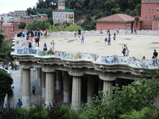 Barcelona Turisme Guided Tour Park Guell: Parque Guell