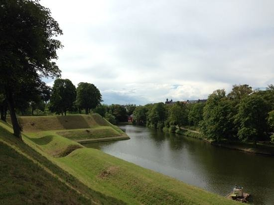 Kastellet: view from the citadel walls