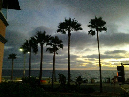 Tamarack Beach Resort and Hotel: view from the balcony
