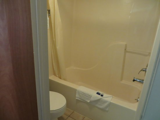 BEST WESTERN of Birch Run/Frankenmuth : Small bathroom