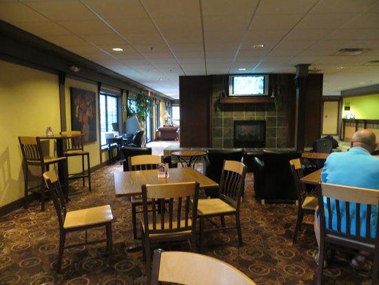 Best Western of Birch Run/Frankenmuth: Lounge area