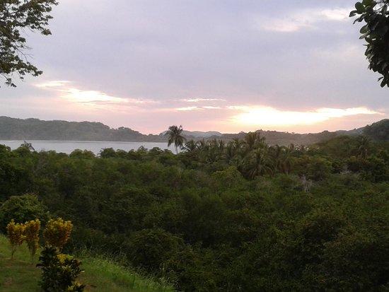La Posada Bed & Breakfast: Sonnenuntergang von der Terrasse