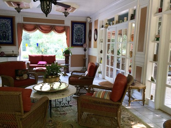 Melange Bed and Breakfast : A sitting room