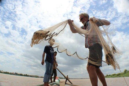Backstreet Academy: fishing on the Mekong River