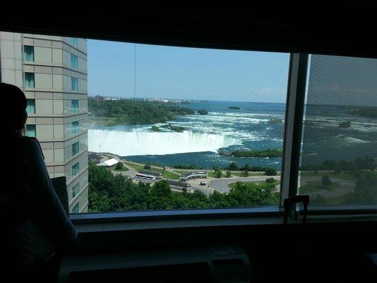 Radisson Hotel & Suites Fallsview: Niagara falls view