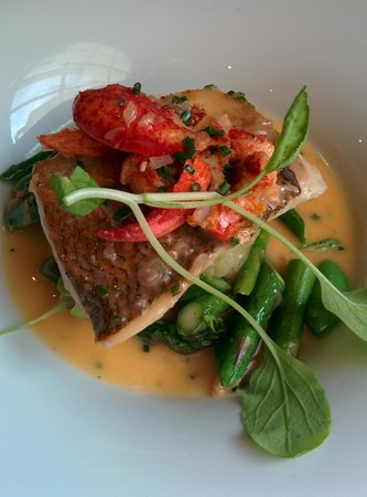 Treadwell: Whitefish with Lobster Beurre Blanc