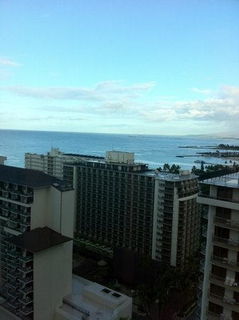 The Imperial Hawaii Resort at Waikiki: View from the 25th floor
