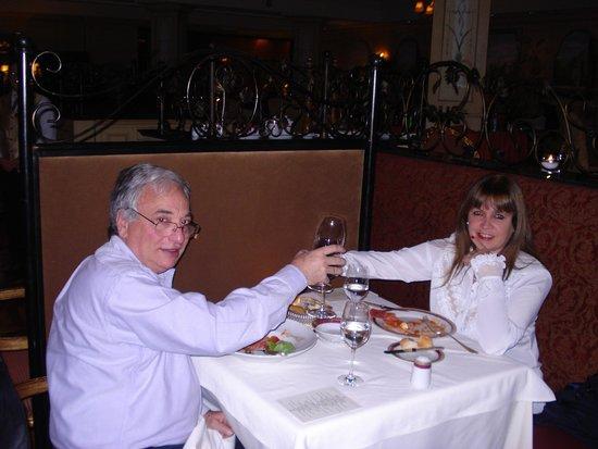 Sofitel La Reserva Cardales: Cena en el Hotel