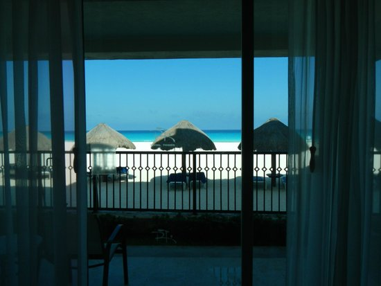 Grand Park Royal Cancun Caribe: View from the room