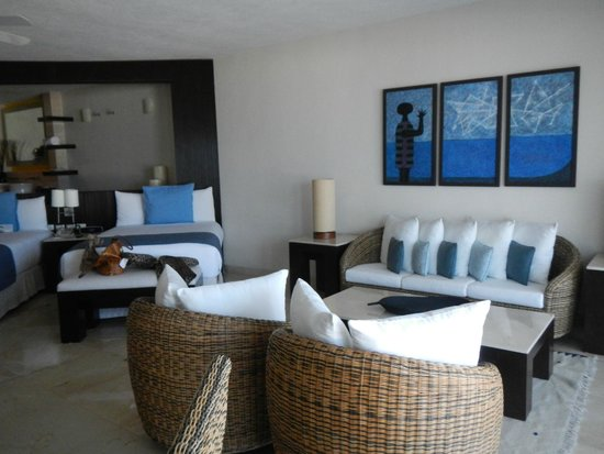 Grand Park Royal Cancun Caribe: The room