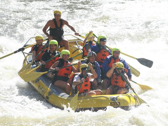Whitewater Rafting, LLC : The group