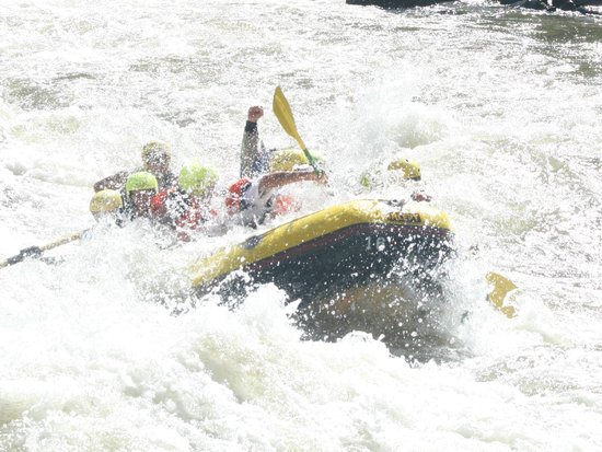 Whitewater Rafting, LLC : The fist!