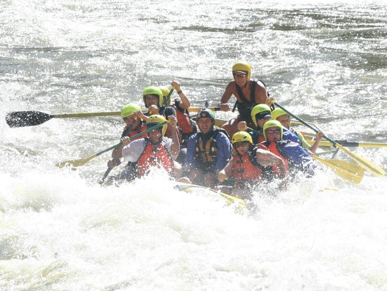 Whitewater Rafting, LLC : Cold water!!