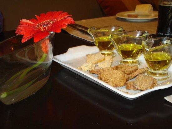 Savoy Hotel: degustacao azeites