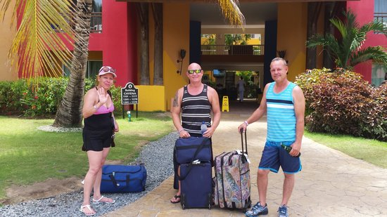 Caribe Club Princess Beach Resort & Spa: ya terminada mis ricad vacaciones