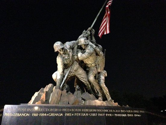 Monuments by Moonlight Night Tour: Iwo Jima Memorial