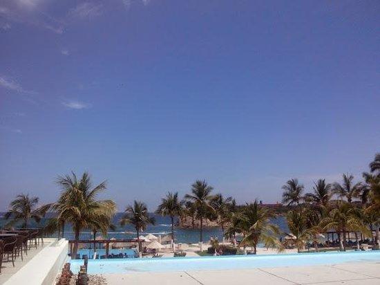 Dreams Huatulco Resort & Spa: Desde el lobby del hotel