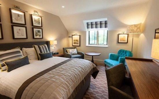 De Vere Oxford Thames: Oxford Thames Four Pillars Hotel Garden Room