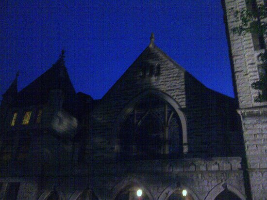 Haunted Asheville Ghost Tours: Landmark we visited during Haunted Asheville tour