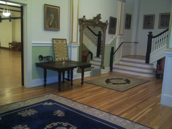 Haunted Asheville Ghost Tours: The Masonic Lodge- Haunted Asheville/ Museum are located in the basement of this historic buildi