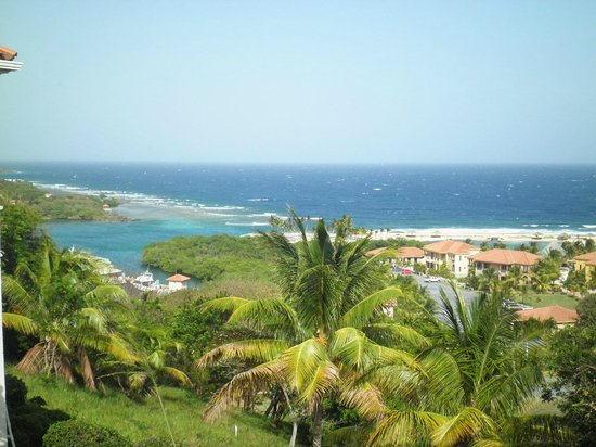 Parrot Tree Beach Resort: View from the hill