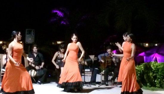 Royalton Cayo Santa Maria : Flamenco (spectacle)