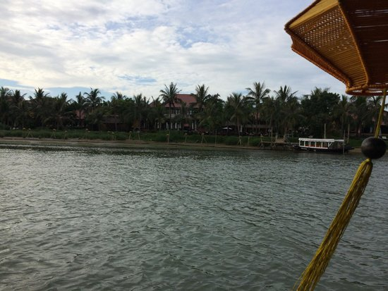 Anantara Hoi An Resort: View from river