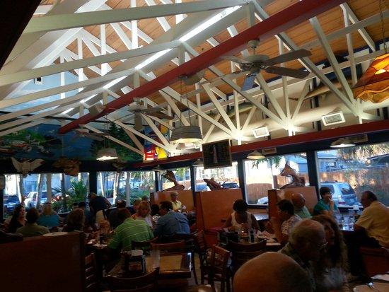 New England Fish Market & Restaurant: inside view