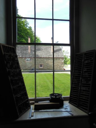 The Farmers' Museum: View from Printers Shop