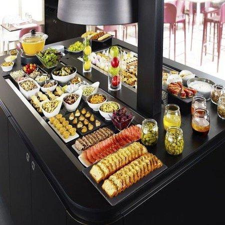 Campanile Haguenau: Buffet Restaurant