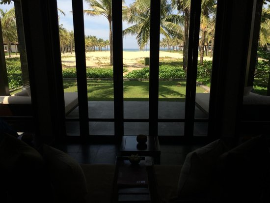The Nam Hai Hoi An : view out to sea