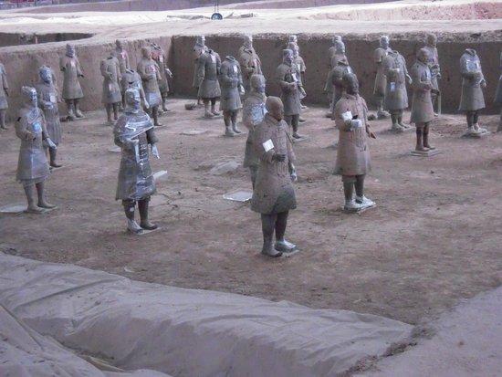 Mausolée de l'empereur Qin : Close Up