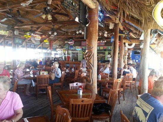 Tiki Bar & Restaurant: inside view